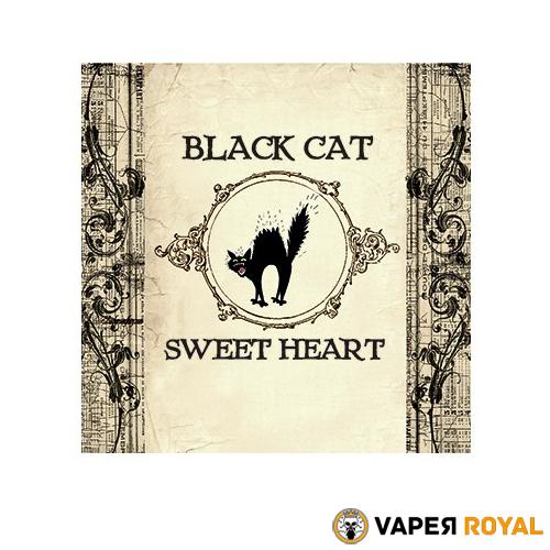 Black Cat Sweet Heart