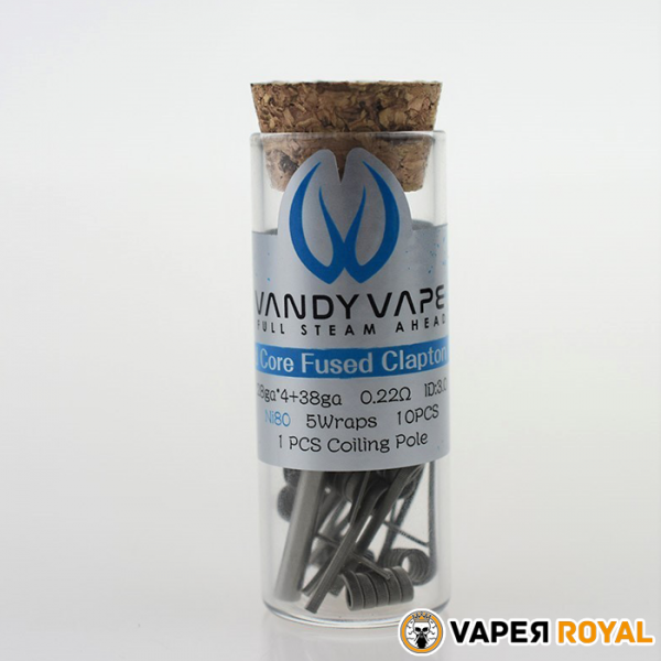Vandy Vaper Quad Core Fused Clapton