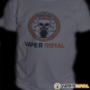 Camiseta Blanca Vaper Royal