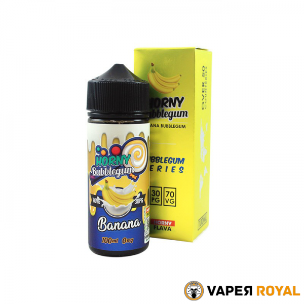 Horny Flava Banana Bubblegum