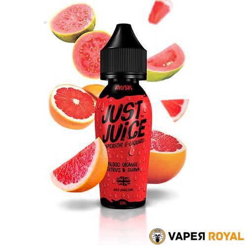 Just Juice Blood Orange & Citrus Guava