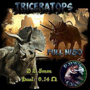 Davido Coils Triceratops