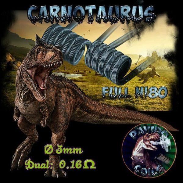 Davido Coils Carnotaurus