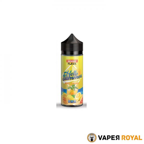 Horny Flava Hello Summer Mango Lemonade