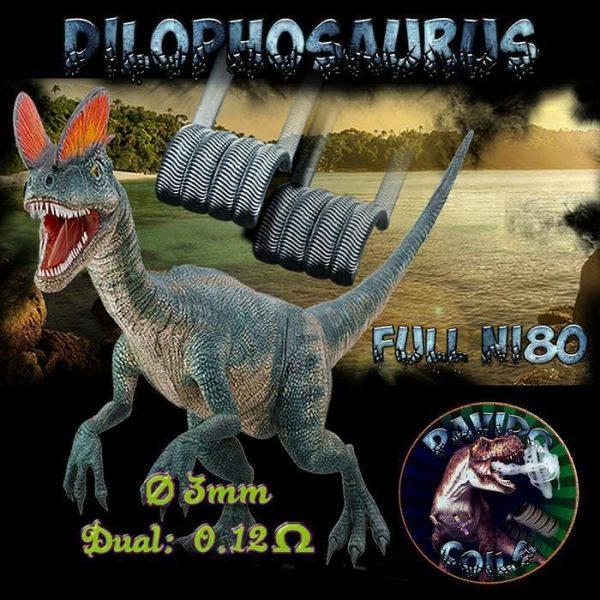 Davido Coils Dilophosaurus