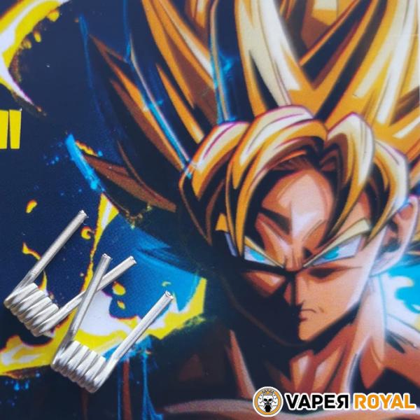 Timón Coil Alien Goku Super Saiyan II