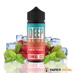 Deep Blue Strawberry Menthol
