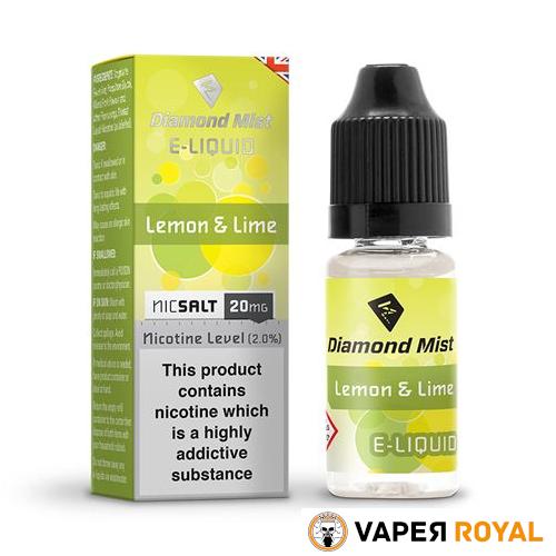 Diamond Mist Lemon & Lime Salt