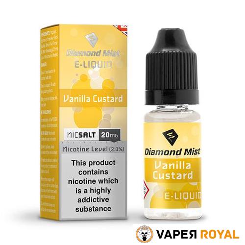 Diamond Mist Vanilla Custard Salt